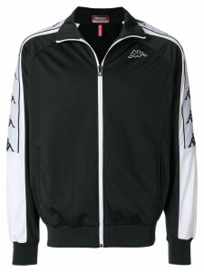 Kappa logo sport jacket - Black