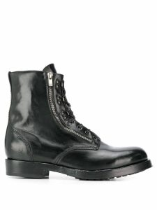 Officine Creative Hive lace-up boots - Black