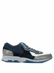LANVIN panelled low-top sneakers - Blue
