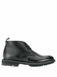 Corneliani lace-up ankle boots - Black