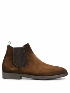 Officine Creative suede Chelsea boots - Brown