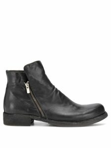Officine Creative Magnete zipped boots - Black
