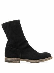 Premiata suede ankle boots - Black