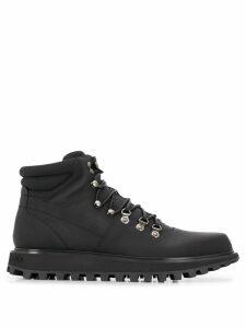 Dolce & Gabbana hiking style boots - Black