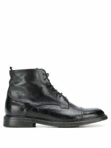 Silvano Sassetti Epsom boots - Black