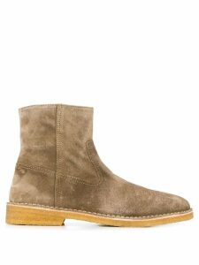Isabel Marant zipped ankle boots - Neutrals