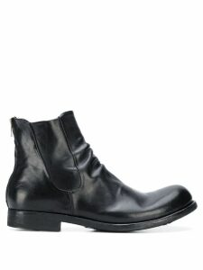 Officine Creative worn-look ankle boots - Black