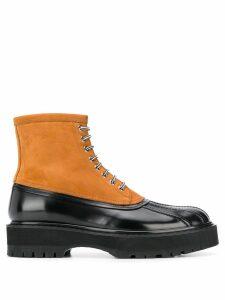 Givenchy dual-tone hybrid boots - Black
