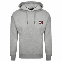 Tommy Jeans Badge Hoodie Grey