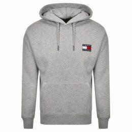 Tommy Jeans Badge Hoodie Grey