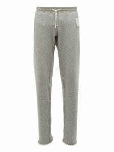Satisfy - Jogger Cotton Track Pants - Mens - Grey