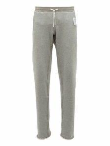 Satisfy - Jogger Cotton Track Pants - Mens - Grey