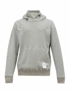 Satisfy - Jogger Cotton Hooded Sweatshirt - Mens - Grey