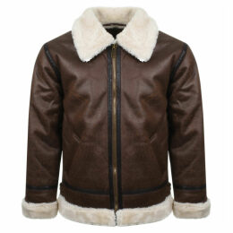 Alpha Industries B3 FL Flying Jacket Brown