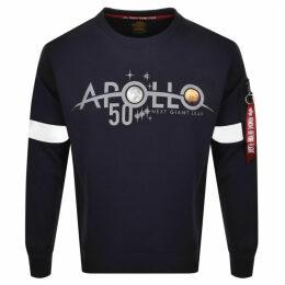 Alpha Industries Apollo 50 Sweatshirt Navy