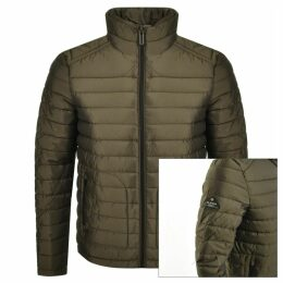 Superdry Padded Double Zip Fuji Jacket Green