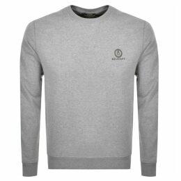 Belstaff Crew Neck Sweatshirt Grey