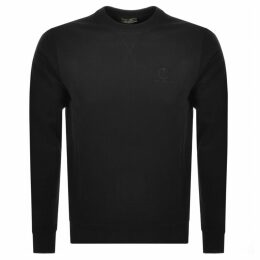 Belstaff Crew Neck Sweatshirt Black