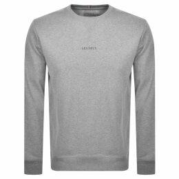 Les Deux Lens Crew Neck Sweatshirt Grey