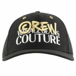 Versace Jeans Couture Logo Baseball Cap Black