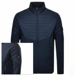 BOSS Athleisure Sivon Full Zip Sweatshirt Navy