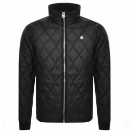 G Star Raw Meefic Quilted Jacket Black