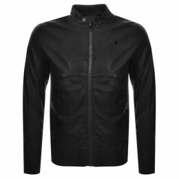 G Star Raw Motac X Biker Jacket Black