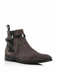 Paul Smith Men's Harrow Suede Strap Chelsea Boots