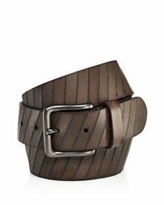 Frye Men's Laser Cut Leather Belt