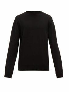 Wardrobe. nyc - Crew Neck Sweater - Mens - Black