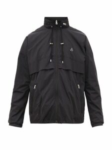 Isabel Marant - Glasco Logo Appliqué Technical Windbreaker Jacket - Mens - Black