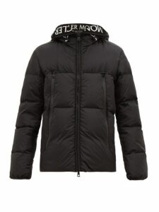 Moncler - Hooded Quilted Down Jacket - Mens - Black