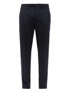 Altea - Dumbo Cotton Twill Trousers - Mens - Navy