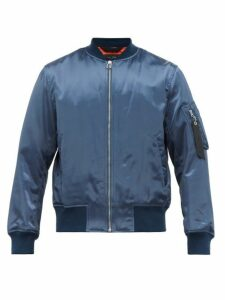 Rag & Bone - Upcycled Military Bomber Jacket - Mens - Blue
