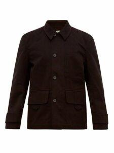 Studio Nicholson - Koku Cotton Twill Field Jacket - Mens - Black