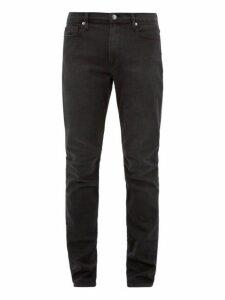 Frame - L'homme Athletic Cotton Blend Jeans - Mens - Black