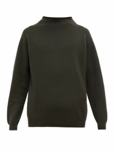 Margaret Howell - High Neck Wool Sweater - Mens - Green