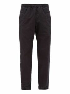 Mhl By Margaret Howell - Elasticated Cotton Twill Trousers - Mens - Blue