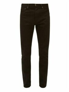 Jeanerica Jeans & Co. - Tm005 Cotton Blend Tapered Leg Jeans - Mens - Black