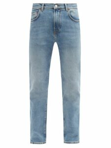 Jeanerica Jeans & Co. - Sm001 Cotton Blend Slim Leg Jeans - Mens - Blue