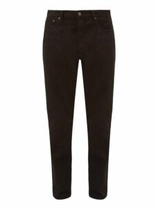 Jeanerica Jeans & Co. - Lm009 Cotton Blend Tapered Leg Jeans - Mens - Black