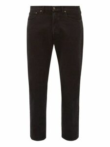 Jeanerica Jeans & Co. - Cm002 Cotton Blend Straight Leg Jeans - Mens - Black