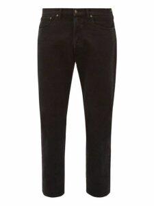 Jeanerica Jeans & Co. - Classic Cotton Blend Jeans - Mens - Black