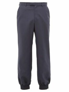 Gucci - Military Drill Trousers - Mens - Navy