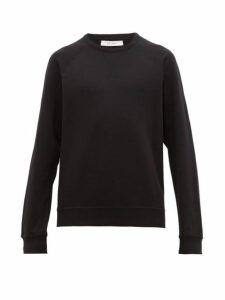 The Row - Sal Raglan Sleeve Cotton Sweatshirt - Mens - Black