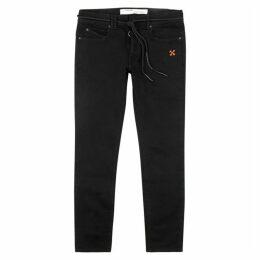 Off-White Black Skinny Jeans