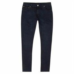 Nudie Jeans Skinny Lin Dark Blue Skinny Jeans