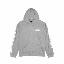 Daniel Patrick Moving Mountains Grey Mélange Jersey Sweatshirt