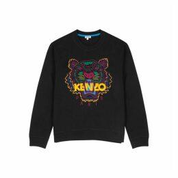 Kenzo Tiger-embroidered Cotton Sweatshirt