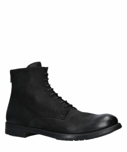 Hive Lace-Up Leather Ankle Boots